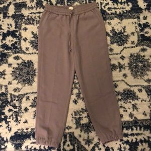 Jcrew jogger work pant new size 4